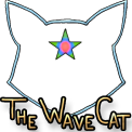 The Wave Cat: Logo
